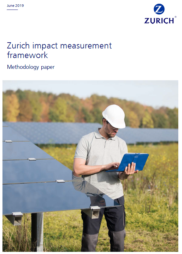 Zurich Insurance Impact Measurement Framework Cover Page